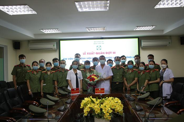 Lễ xuất quân đồng hành chống dịch cùng thành phố Hồ Chí Minh - Ảnh 3.