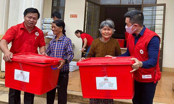 Ngày Quốc tế giảm nhẹ thiên tai 13/10: Hội Chữ thập đỏ Việt Nam chủ động ứng phó với thách thức kép - Ảnh 3.