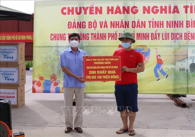 Hỗ trợ TP Hồ Chí Minh nhu yếu phẩm và thiết bị phòng, chống dịch - Ảnh 4.