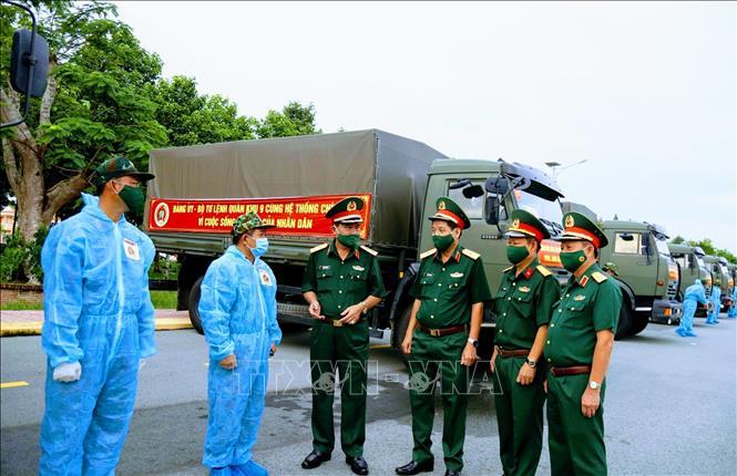Hỗ trợ TP Hồ Chí Minh nhu yếu phẩm và thiết bị phòng, chống dịch - Ảnh 1.