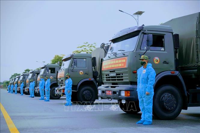 Hỗ trợ TP Hồ Chí Minh nhu yếu phẩm và thiết bị phòng, chống dịch - Ảnh 2.
