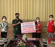 Hội Chữ thập đỏ Việt Nam hỗ trợ nguồn lực cùng tuyến đầu chống dịch