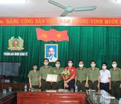 Ninh Bình: Người chiến sỹ Công an dũng cảm và giàu lòng nhân ái