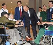 Hướng dẫn tặng quà của Chủ tịch nước nhân dịp kỷ niệm 74 năm ngày Thương binh - Liệt sĩ
