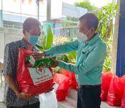 Hội Chữ thập đỏ TP. Hồ Chí Minh: Hỗ trợ người dân khó khăn bởi dịch ở xã Tân Thông Hội, huyện Củ Chi