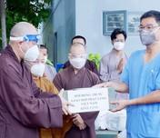 Tăng ni, phật tử TP Hồ Chí Minh chung tay phòng chống đại dịch Covid 19