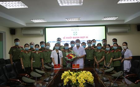Lễ xuất quân đồng hành chống dịch cùng thành phố Hồ Chí Minh