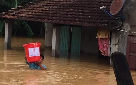Ngày Quốc tế giảm nhẹ thiên tai 13/10: Hội Chữ thập đỏ Việt Nam chủ động ứng phó với thách thức kép