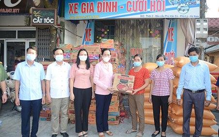 Hà Nam: Trên 7 tỷ đồng hỗ trợ đồng bào trong và ngoài tỉnh phòng chống dịch Covid-19