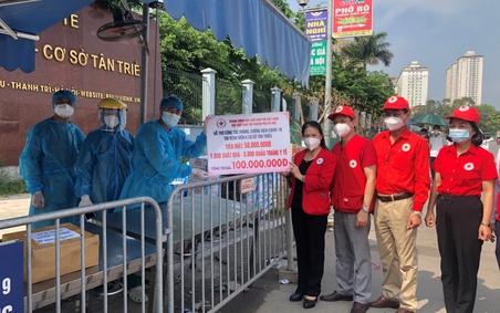 Trung ương Hội Chữ thập đỏ Việt Nam hỗ trợ Bệnh viện K cơ sở Tân Triều