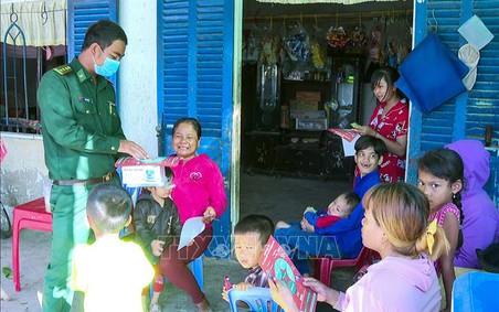 Người chiến sỹ Biên phòng Khmer hết mình vì đồng bào vùng biên
