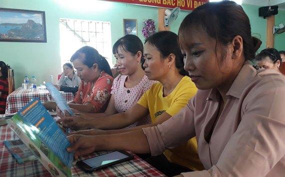 Đa dạng mô hình giúp phụ nữ vùng tôn giáo Đại Hải phát triển kinh tế