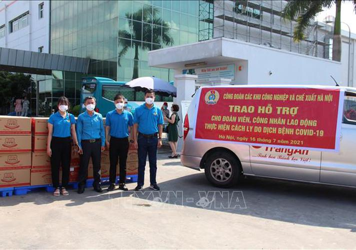 Hà Nội thành lập Tổ ứng phó khẩn cấp hỗ trợ đoàn viên, người lao động