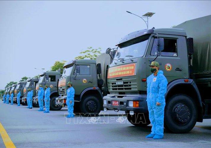 Hỗ trợ TP Hồ Chí Minh nhu yếu phẩm và thiết bị phòng, chống dịch